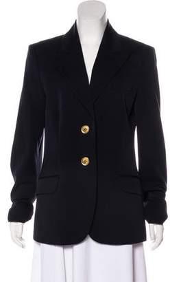 Michael Kors Wool Structured Blazer