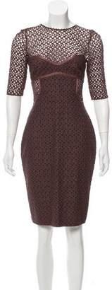 Missoni Long Sleeve Crochet Dress