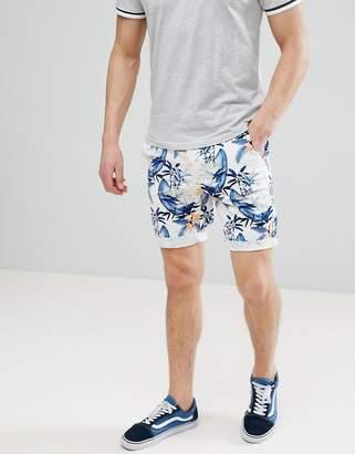 Jack and Jones Chino Shorts In Beach Print