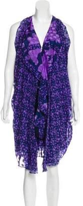 3.1 Phillip Lim Draped Silk Asymmetrical Dress