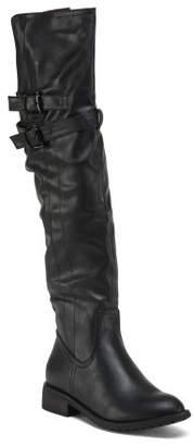 High Shaft Buckle Boots