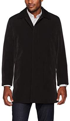 Ike Behar Men's Omaha Classic Coat with Zip Out Liner