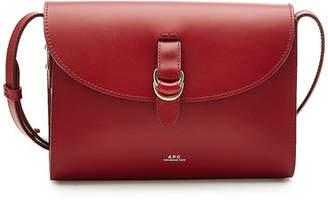 A.P.C. Alicia Leather Shoulder Bag