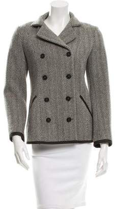Narciso Rodriguez Wool Double-Breasted Jacket