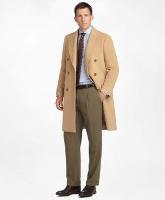 Brooks Brothers Golden Fleece Double-Breasted Polo Coat