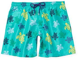 Vilebrequin Men's Turtle Print Swim Trunks