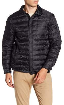 Slate & Stone Liam Camo Quilted Down Jacket