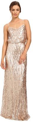 Donna Morgan - Courtney - Spaghetti Blouson Women's Dress $290 thestylecure.com