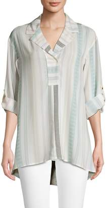 Jones New York High Low Tunic Top