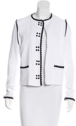 Viktor & Rolf Long Sleeve Open Front Jacket