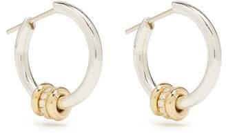 ara (アラ) - Spinelli Kilcollin - Ara Diamond, Silver & Yellow Gold Earrings - Womens - Gold