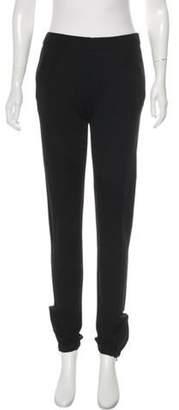 Stella McCartney Mid-Rise Skinny Loungwear Pants Black Mid-Rise Skinny Loungwear Pants