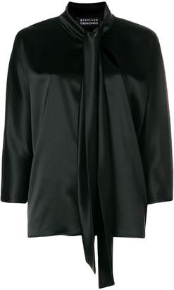 Gianluca Capannolo cropped sleeves blouse