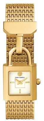 Tory Burch Surrey Mesh Bracelet Watch, 22mm x 23.5mm