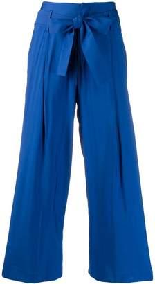 Liu Jo belted cropped trousers