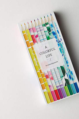 Anthropologie A Colorful Life Colored Pencil Set