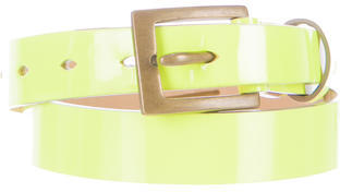 Paul Smith Patent Leather Waist Belt $45 thestylecure.com