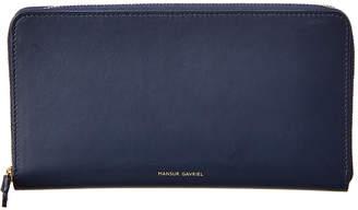 Mansur Gavriel Leather Zip Around Wallet
