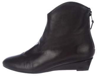 Stuart Weitzman Modest Wedge Ankle Boots