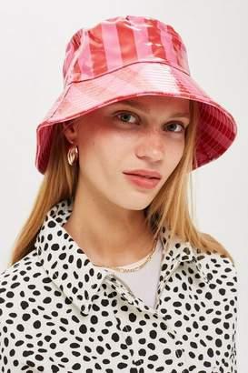 Topshop Stripe Bucket Hat