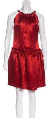 Lanvin Sleeveless Linen Dress w/ Tags