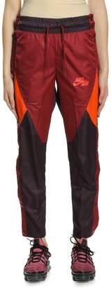 Nike Ah7640-652 Pant Wvn Qsport Wine/team Orange