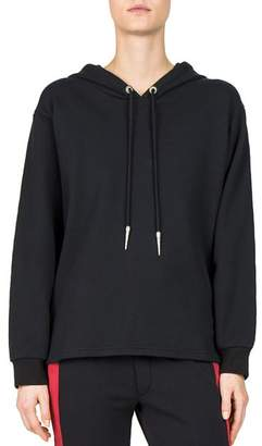 The Kooples Grommeted Lace-Up Hoodie