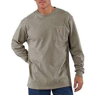 Carhartt Men's Workwear Pocket Long Sleeve T-Shirt K126