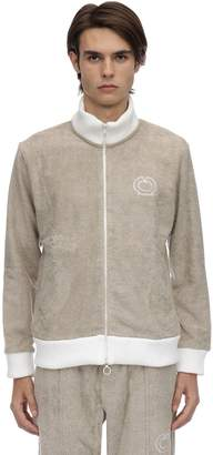 Casablanca Zip-up Cotton Terry Sweat Jacket