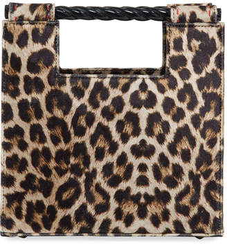 Mehry Mu Velvet Leopard Unicorn Top Handle Bag