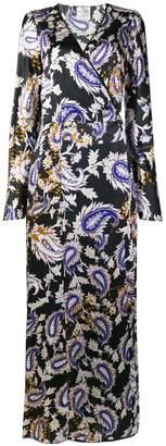 Forte Forte printed robe dress