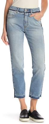 French Connection Side Stripe Crop Jeans