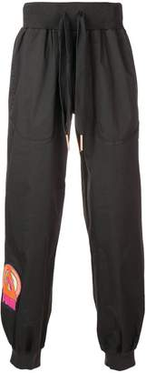 Puma elasticated waist track pants