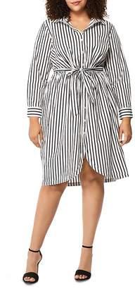 Wilson Rebel x Angels Striped Shirt Dress