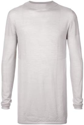 Rick Owens stretch long sleeved top