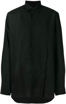 Givenchy pointed collar shirt