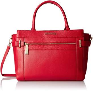 Tommy Hilfiger Savanna Convertible Leather Shopper