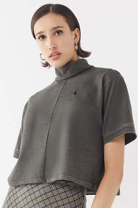Urban Renewal Vintage Remade Mock-Neck Polo Shirt