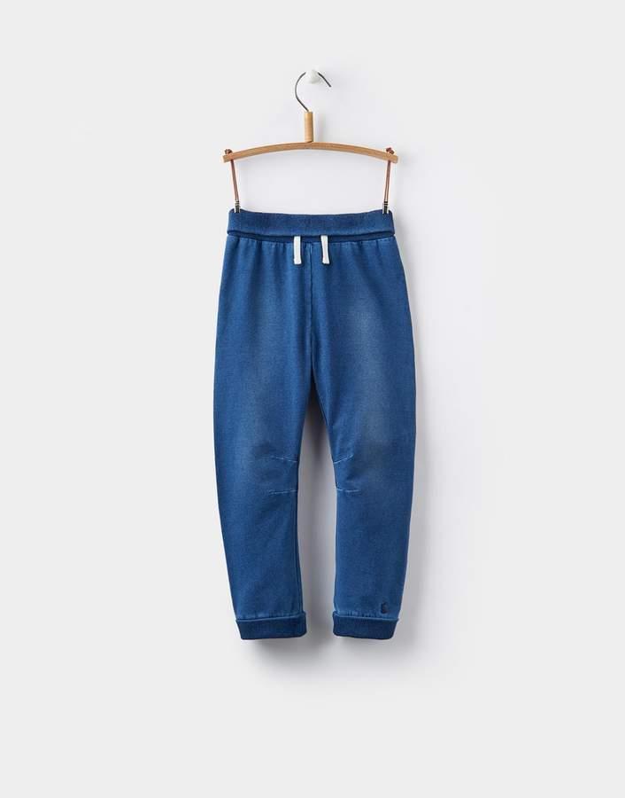Joules Clothing Denim Hugo Jersey Denim Joggers 0yr