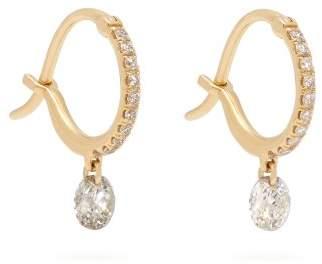 Raphaele Canot - Set Free Sapphire & Diamond Hoop Earrings - Womens - Gold