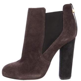 Tory Burch Suede Chelsea Boots