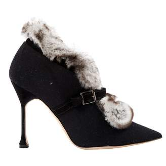 Manolo Blahnik Cloth ankle boots