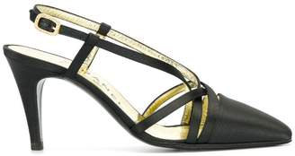 Chanel Pre-Owned strappy buckled pumps