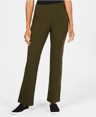 Style&Co. Style & Co Tummy-Control Bootcut-Leg Pull-On Pants
