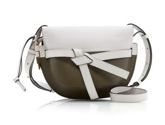 Loewe Gate Color-Blocked Small Leather Bag