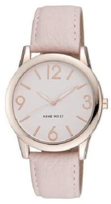 Nine West Women's NW/1158PKRG Rose Gold-Tone Watch