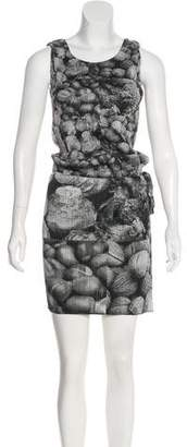 Pleats Please Issey Miyake Plissé Photographic Print Dress