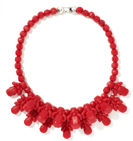 Lipstick Red Yawning Apollo Necklace