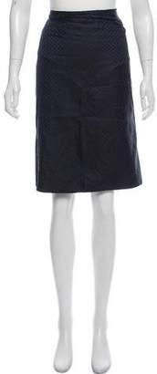 Armani Collezioni Knee-Length Silk Skirt