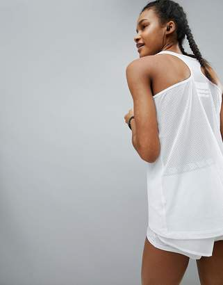 Asos 4505 4505 Singlet Top In Loose Fit With Mesh Racer Back